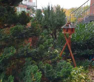 Sehr gepflegte Erdgeschosswohnung mit eigenem Eingang und kleinem Gartenstück wartet auf Sie!