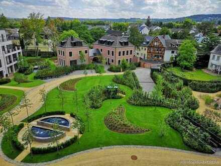 Bad Godesberg / Neubau Villa, LUXUS - Ausstattung in herrlicher Rheinlage mit Siebengebirgsblick