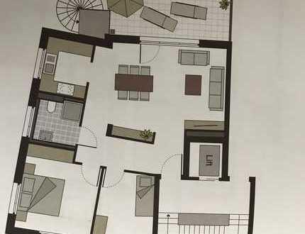 Erstbezug: exklusive 3-Zimmer-Wohnung mit Einbauküche und Balkon mit schöner Aussicht