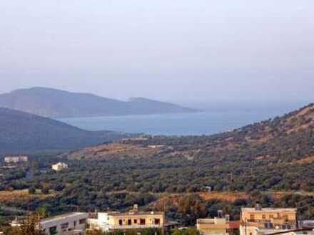Baugrundstück mit Meerblick, 670 m2, in Kavousi, Kreta