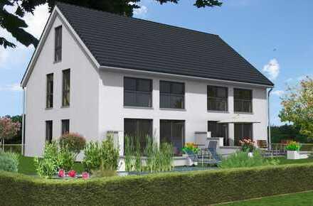 Doppelhaus für Wohn- und Gewerbenutzung in Golm!