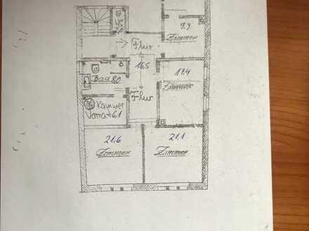 Attraktive 4-Zimmer-Altbau-Wohnung im Herzen von Ettlingen
