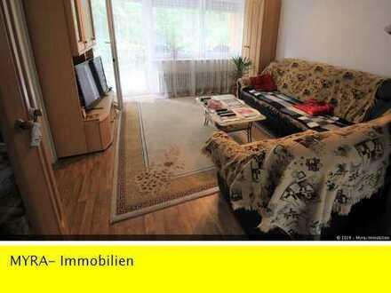 RESERVIERT **Großzügige 4-Zimmer EG-Wohnung nähe Daimler Benz mit Balkon und Garage **