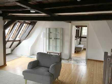 Möblierte Altbau Maisonette-Wohnung mit Balkon in Bad Münstereifel