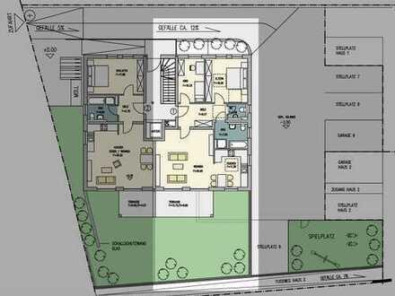 Große 3-Zimmer Terrassenwohnung mit eigenen 71qm Garten