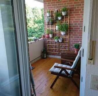 2-Zimmer-Wohnung mit Balkon und Einbauküche in Münster-Roxelw