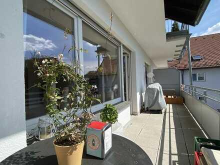 helle 2 Zi.-Whg. mit moderner EBK und großem Balkon in Mühlheim-Lämmerspiel