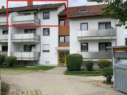 +++4-Zi.-Dachstudio-Wohnung in verkehrsberuhigter Lage +++