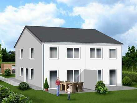 Doppelhaushälfte auf großzügigem Grundstück in attraktiver Stadtrandlage