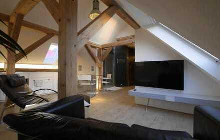 Möblierte Business-Dachgeschosswohnung im Münchener Süden