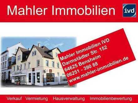 7% Rendite, rentables Wohn- und Geschäftshaus in der Bensheimer Fußgängerzone
