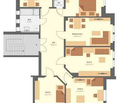 5 Zimmer - Erstbezug nach Sanierung!