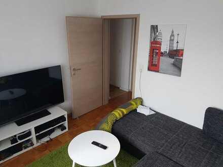 Zwei vollmöblierte Zimmer in einer neu renovierten Wohnung auf dem Stumpenhof