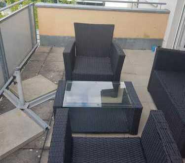 Gepflegte 2,5-Zimmer-Loft-Wohnung mit Balkon und EBK in Rottenburg zentrumsnah