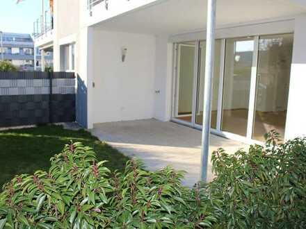 Neuwertige 2-Zimmer-EG-Wohnung mit kleinem Garten in Filderstadt