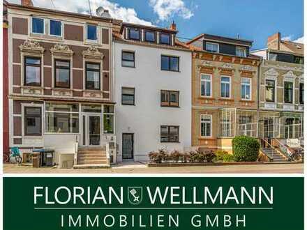 Bremen - Hohentor   Sanierte Wohnung im 1. Obergeschoss mit großer Dachterrasse