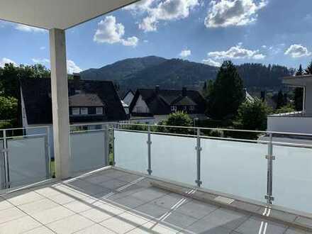 Erstbezug! Hochwertige, helle 3-Zi-Wohnung mit großem Südwest-Balkon