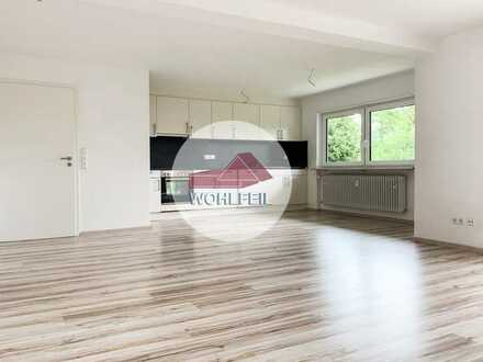 Wohlfeil Immobilien: Helle, großzügie und ruhige 3,5 Zimmer Souterrainwohnung