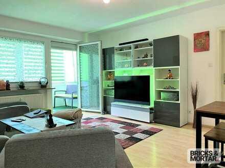 Kapitalanlage! - Vermietete 2-Zimmerwohnung mit EBK, Balkon und Tageslichtbad