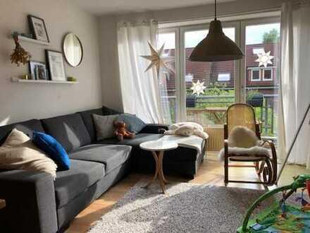 Tolle 3-ZKB-Dachgeschoss-Wohnung mit sonnigem Balkon im Stadtsüden! Zum 01.07.2019.