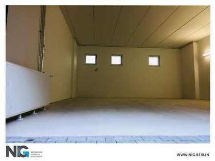 NEUBAU direkt an der AVUS: ebenerdige, tagesbelichtete Lager-, Serviceflächen   + Büros