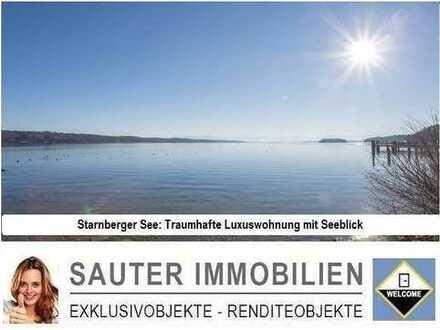 Traumwohnung mit Seeblick am Starnberger See