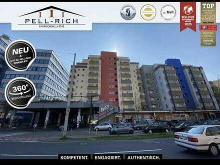 HOCH HINAUS! Freie 3-Zimmer Wohnung mit zwei Balkonen in gefragter Stadtteillage
