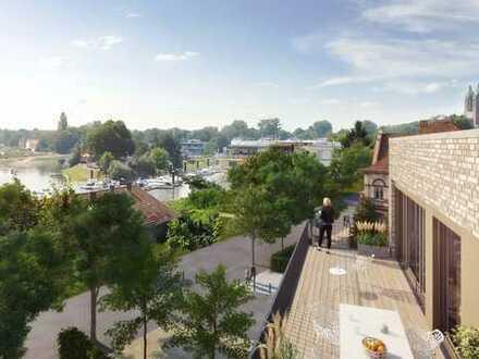 Stilvolle 4-Zimmer-Penthouse-Wohnung mit exklusiver Dachterrasse - AM FLUSS werden Träume wahr