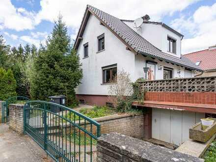 Ein Haus mit Garten und Kamin fußläufig (200m) zum Scharmützelsee
