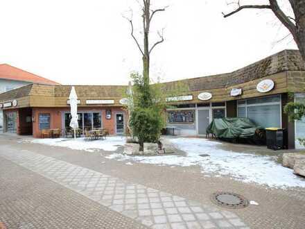 Projektentwickler- & Bauträgerobjekt: Gewerbegrundstück - Café+Laden im Ortskern von Oberasbach