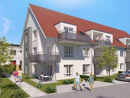 ETW 10 * KFW 55 * Attraktive 2-Zi.-Wohnung mit Balkon - und 18000 Euro Zuschuss vom Staat!
