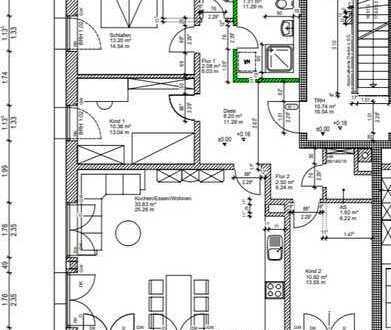 Ruhige Erdgeschosswohnung im Herzen von Obergünzburg mit Terrasse und Garten – Neubau 95m2