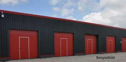 NEUBAU: Garagen und Lagerhallen im Sandkruger Gewerbegebiet ab 1.5. zu vermieten