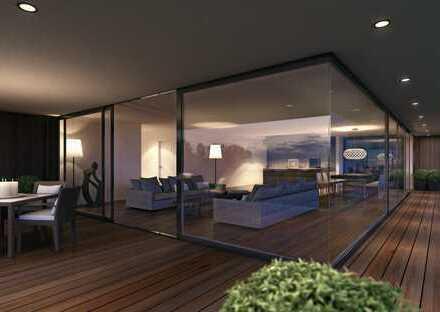 Luxuriöse Terrassenwohnung mit Seesicht - sofort bezugsbereit - Architektonisches Einzelstück
