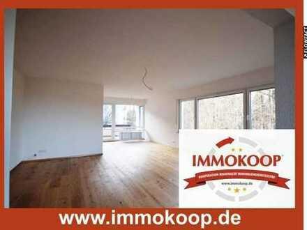 RENOVIERTE 3,5- Zi.- Whg. im 1.OG mit Balkon und 1 Appartement/Büro im UG in herrlicher Waldrandlage