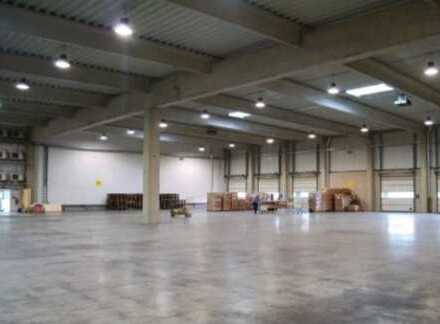 """BAUMÜLLER & CO."" 8.000 qm Halle + 500 qm Büro + 2.000 qm Freifläche TOP Zustand"