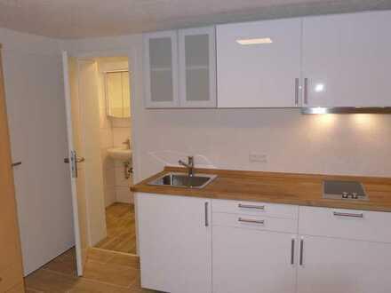 Gepflegte 1-Zimmer-Wohnung mit EBK und Bad mit Dusche in Freiburg