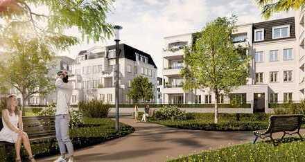 DICHTERVIERTEL, 3. BA, STILVOLL LEBEN AM STADTPARK -2 herrliche Terrassen, 48 qm Wohn-/Essraum ...-