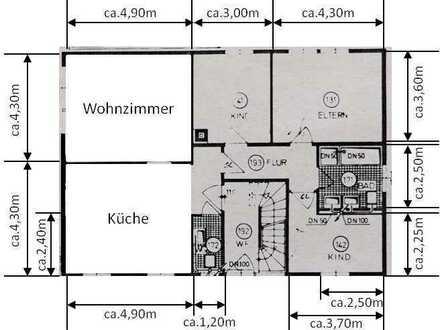 Freundliche, gepflegte 4-Zimmer-Wohnung zur Miete in Oberhausen