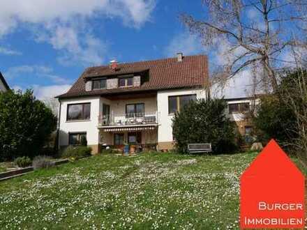 Gepflegtes Einfamilienhaus mit Garage, Stellplatz und großem Garten in Enzberg