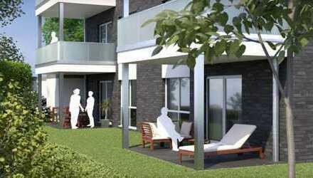 NEU!! Barrierefreie Wohnungen in Duisburg - Bergheim!!mit Garten und Terrasse!! inkl. KfW 55!!