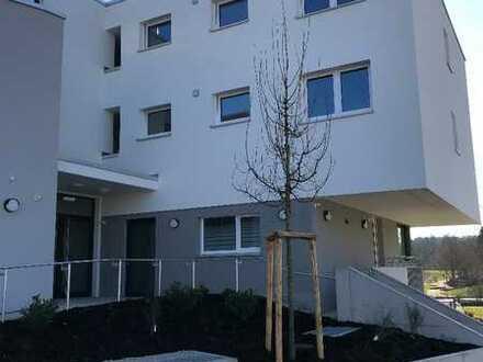 Helle, neuwertige 3-Zimmer-Wohnung mit Balkon und Einbauküche in Rutesheim