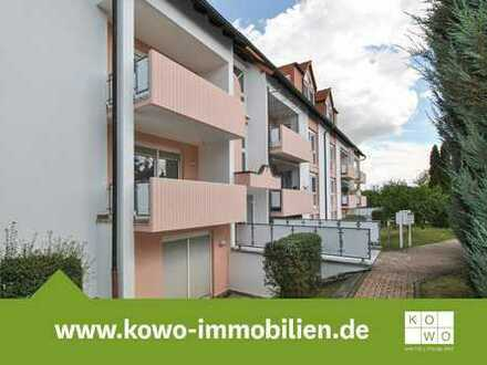 Singles aufgepasst! Kompakte 2-Zimmer-Wohnung in ruhiger Lage mit Terrasse im Grünen