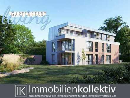 Exklusive Neubau 3-Zimmer-Wohnung mit Balkon, Keller, Parkett & 86 qm Wohn-/Nutzfläche in Top Lage !