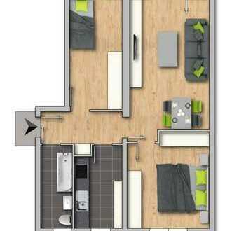 3-Zimmer-Wohnung in Mihla - ruhig und gemütlich Wohnen!!!