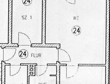Helle ETW mit drei Zimmern und Balkon in Großenhain