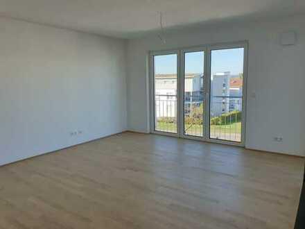 Whg. D7 * 2,5-Zi-Neubau-Whg. mit Balkon und Garage zu vermieten