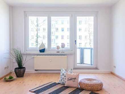 3-Raum-Wohnung in gepflegter Wohnanlage mit Balkon