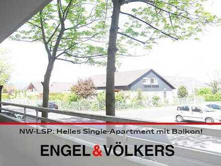 NW-LSP: Helles Single-Apartment mit Balkon!