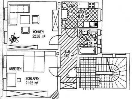 2,0-Zimmerwohnung